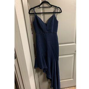 Navy BCBG maxi dress
